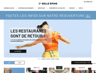 belle-epine.com screenshot