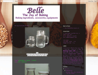 bellebaking.blogspot.com screenshot