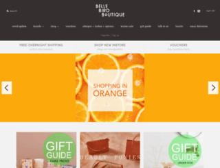 bellebird.co.nz screenshot