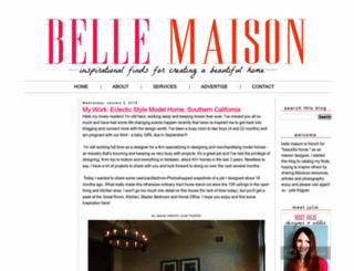 bellemaison23.com screenshot