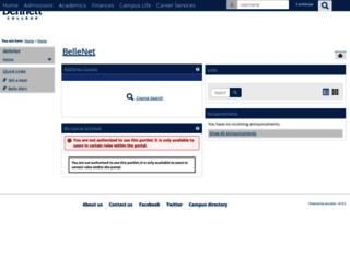 bellenet.bennett.edu screenshot