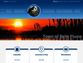 belleplainewi.com screenshot