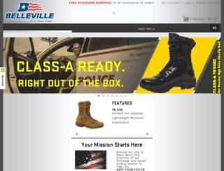 bellevilleshoe.com screenshot