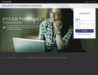 bellevue.mylabsplus.com screenshot