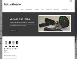 bellevuewoodshop.com screenshot