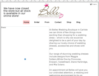 bellewb.co.uk screenshot