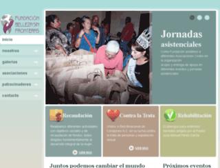 bellezasinfronteras.org screenshot