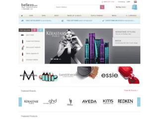 bellezo.com screenshot