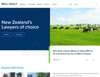 bellgully.co.nz screenshot
