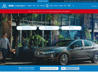 bellhonda.com screenshot