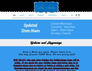 belliesbabies.com screenshot
