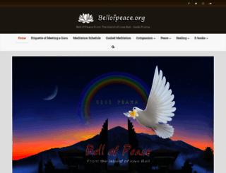 bellofpeace.org screenshot