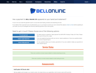 bellonline.co.uk screenshot