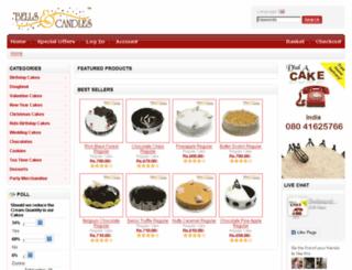 bellsandcandles.com screenshot