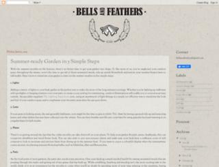 bellsandfeathers.com screenshot