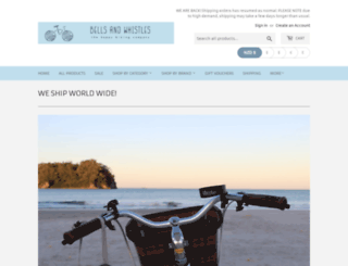 bellsandwhistles.co.nz screenshot