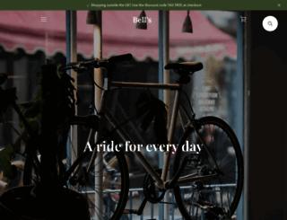 bellsbicycles.co.uk screenshot