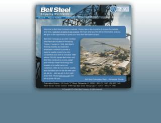 bellsteel.com screenshot