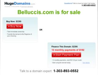 belluccis.com screenshot