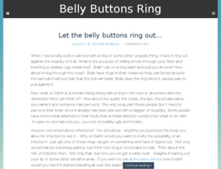 bellybuttonsring.com screenshot