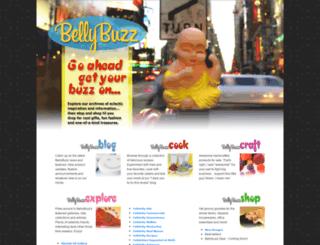 bellybuzz.squarespace.com screenshot
