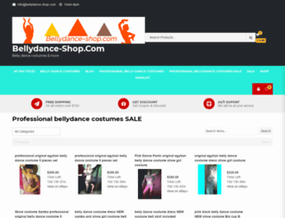 bellydance-shop.com screenshot