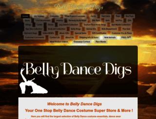 bellydancedigs.com screenshot