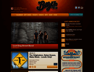 bellyup.com screenshot