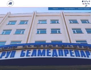 belmedpreparaty.com screenshot