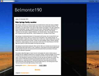 belmonte190.blogspot.com.br screenshot