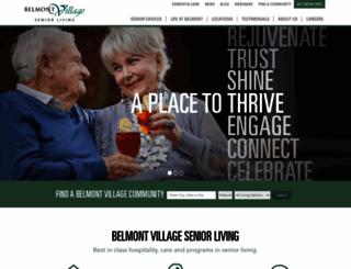 belmontvillage.com screenshot