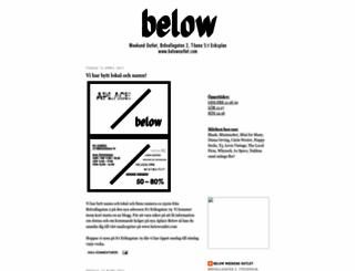 belowoutlet.blogspot.com screenshot