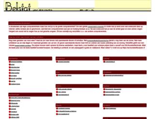 belstat.nl screenshot