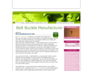 belt-buckle-manufacturer.cuisine-spirit.com screenshot