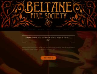 beltane.org screenshot