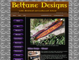 beltanedesigns.co.uk screenshot