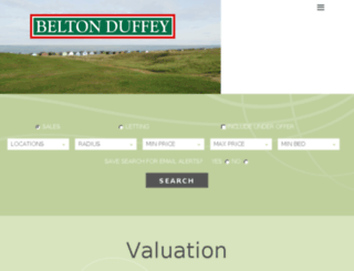 beltonduffey.com screenshot