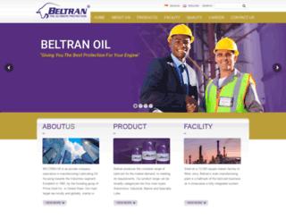 beltranoil.com screenshot