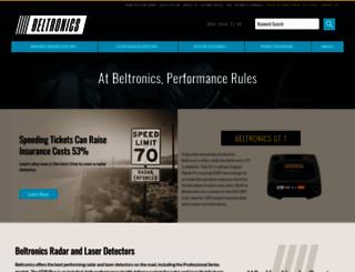 beltronics.com screenshot
