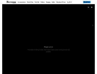 belvederehotel.com screenshot