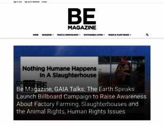 bemagazine.org screenshot