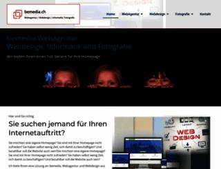 bemedia.ch screenshot