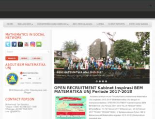 bemjmatematikaunj.org screenshot