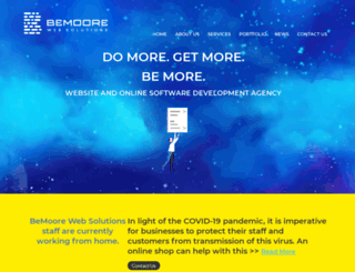 bemoore.com screenshot