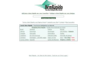 bemrapido.com.br screenshot
