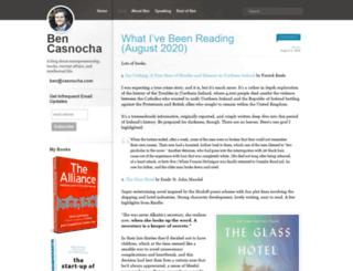 ben.casnocha.com screenshot