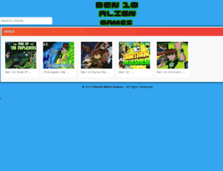 ben10-aliengames.com screenshot