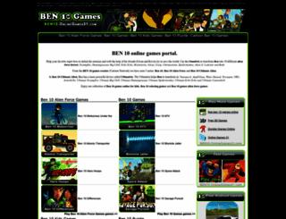 ben10.onlinegames31.com screenshot