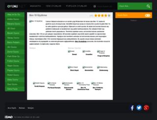 ben10giydirme.oyunu.net screenshot