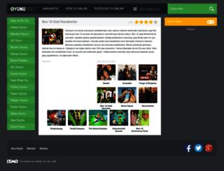 ben10gizlikarakterler.oyunu.net screenshot